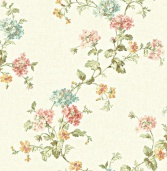 Бумажные обои Wallquest Springtime Cottage CG30906