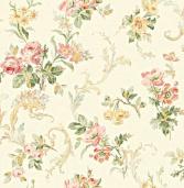 Бумажные обои Wallquest Springtime Cottage CG30003